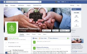 Facebook page RF